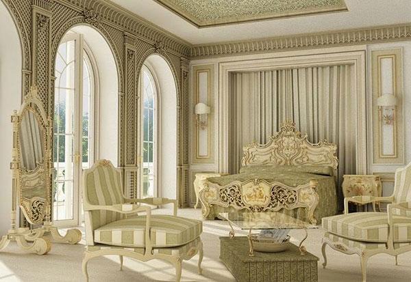 Phong cách nội thất cổ điển Châu Âu