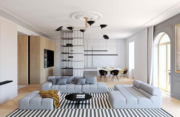 Phong cách thiết kế nội thất hiện đại