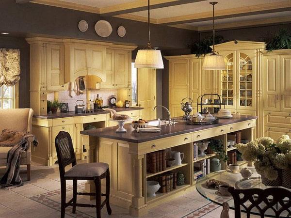 Các món đồ nội thất đuwọc xếp đặt tinh tế, phân chia theo bố cục hoàn chỉnh