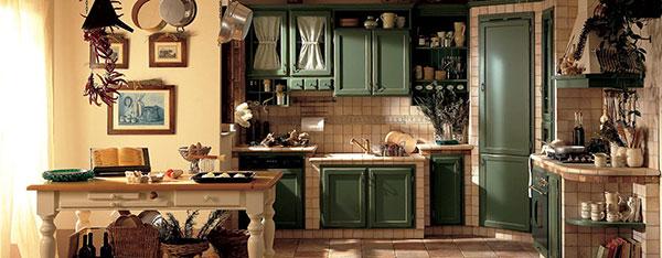 Country Style được tái hiện chỉn chủ, gần gũi tạo nên không gian bếp độc đáo