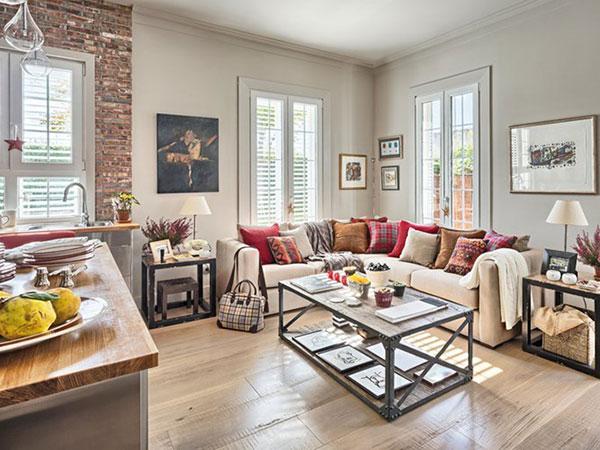Gam màu be trắng hay pastel nhẹ nhàng giúp căn phòng giảm độ nóng vốn có