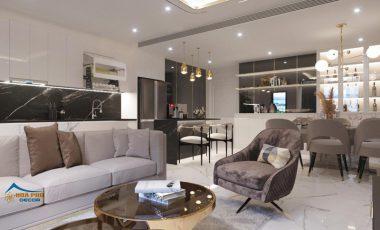Thiết kế căn hộ 3 phòng ngủ 108m2 tại Vinhomes Central Park