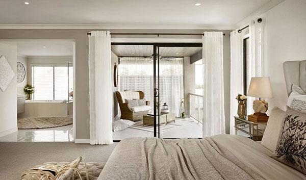 Mẫu nội thất phòng ngủ biệt thự mini đẹp