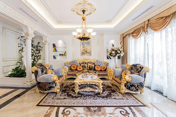 Mẫu thiết kế nội thất biệt thự liền kề đẹp, hiện đại