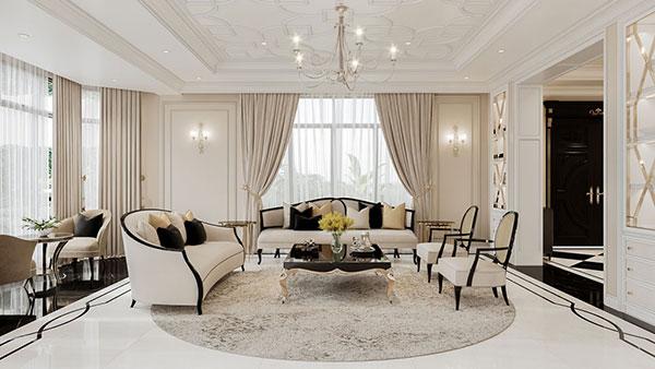 Các món đồ nội thất được xếp đặt hợp lý thể hiện cá tinh của gia chủ