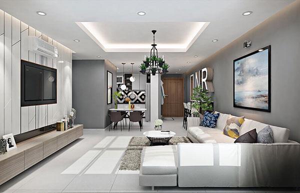 Màu kem tạo nên không gian nội thất ấn tượng