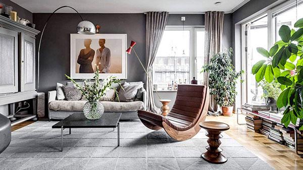 Sự đơn giản mà thanh lịch tạo nên thiết kế nội thất chung cư phong cách Scandinavian