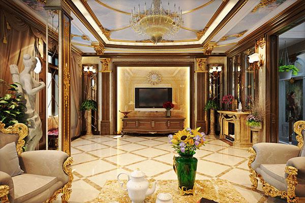 Sự cầu kỳ, tỉ mỉ trong từng chi tiết tạo nên nội thất phong cách cổ điển