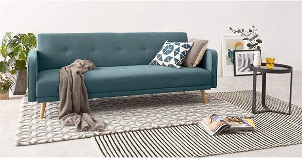Ghế chân tròn khô to là đặc trưng của nội thất phong cách Scandinavian