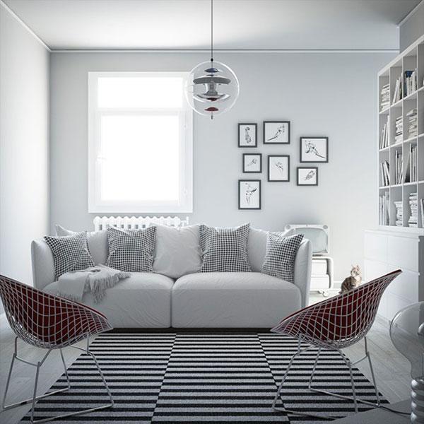 Tạo điểm nhấn bằng món đồ nội thất Bắc Âu mang đến không gian sống đẳng cấp