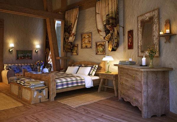 Phong cách nội thất Vintage có phòng ngủ được trang trí mới lạ, thu hút ánh nhìn