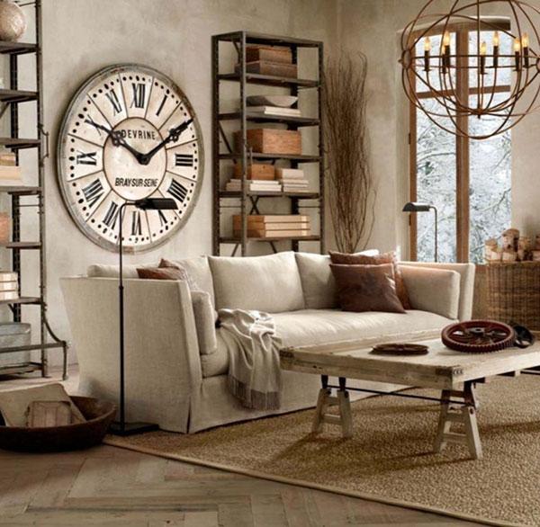 Nội thất Vintage chủ yếu là món đồ cũ kĩ, cổ xưa nhưng được úng dụng trong cuộc sống hiện đại