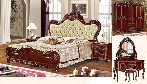 Giường ngủ được làm từ chất liệu cao cấp giúp căn phòng trở nên ấn tương