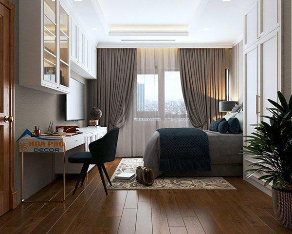 Thi công nội thất căn hộ 123m2 tại Land Mark 6