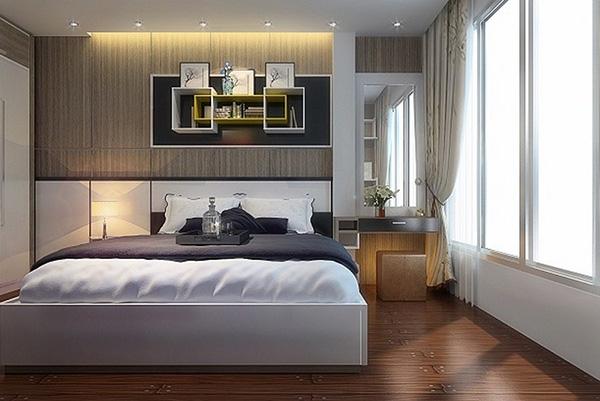 Cách bố trí phòng ngủ diện tích nhỏ từ 10m2 - 15m2 độc đáo cuốn hút