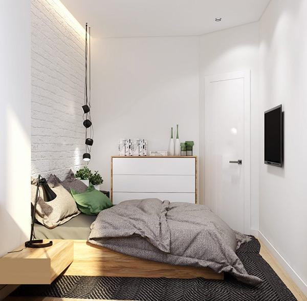 Xây dựng hệ thống ánh sáng trong phòng ngủ theo từng khu vực cho hợp lý