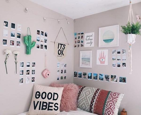 Cách trang trí phòng ngủ có diện tích nhỏ bằng cách tự làm đồ handmade