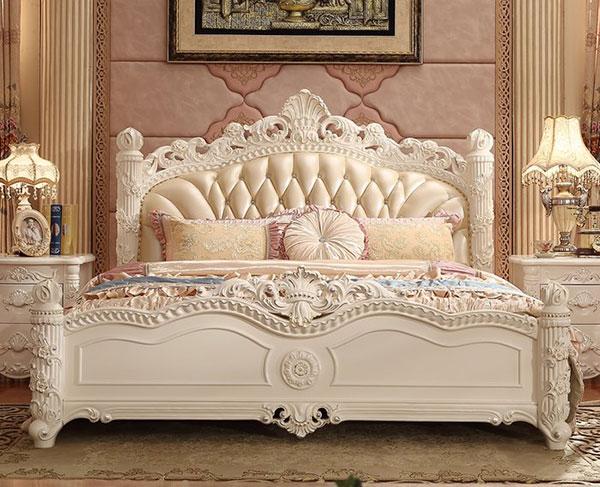 Mẫu giường ngủ tân cổ điển