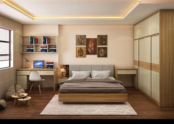 Cách sắp xếp phòng ngủ theo phong cách hiện đại