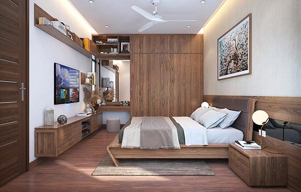 Đặt nội thất phòng ngủ ở phương vị tốt theo mệnh trong quy luật phong thủy