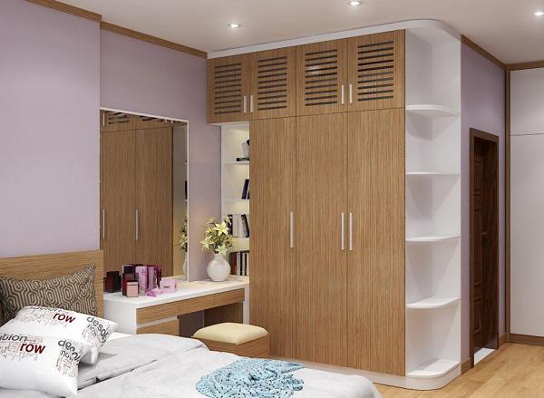 Cách đặt tủ quần áo trong phòng ngủ theo phong thủy giúp mang lại may mắn