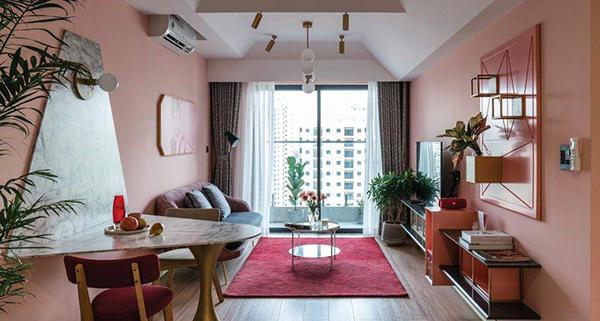 Sơn phòng khách với gam màu pastel nhẹ nhàng mang đến cho bạn sự thoải mái tuyệt đới