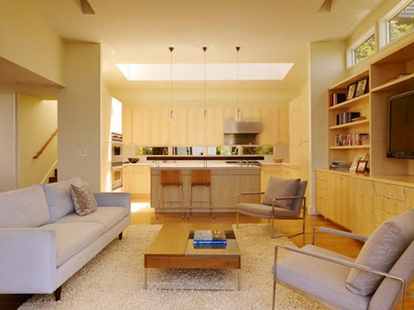 Nội thất phòng đơn giản, nhỏ ngọn mang đến sự kết hợp hoàn chỉnh