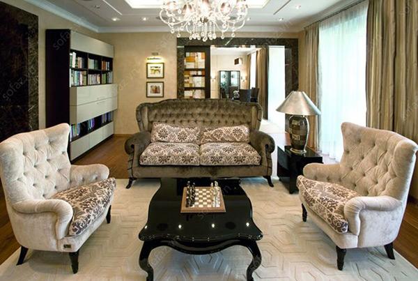 Đồ nội thất đồ sộ, ấn tượng từ thiết kế đến họa tiết