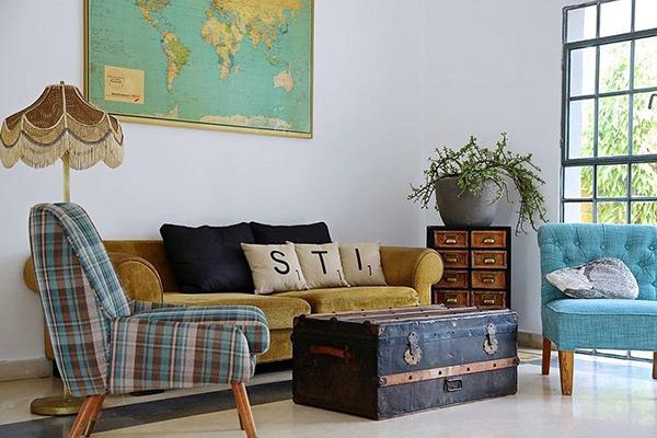Các món đồ nội thất thiết kế Bazaar phóng khoáng, hiện đại