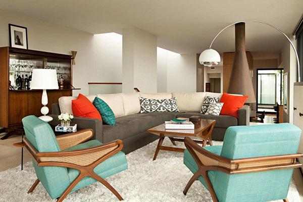Phong cách nội thất Bazaar sử dụng đồ nội thất tự do miễn đảm bảo sự hài hòa