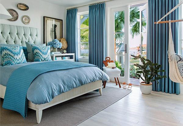 Thiết kế giường ngủ với kiểu dáng chân ngắn đặc trưng