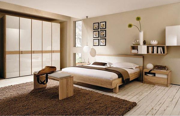 Các món đồ nội thất được sắp xếp thông minh, đơn giản giữa các yếu tố