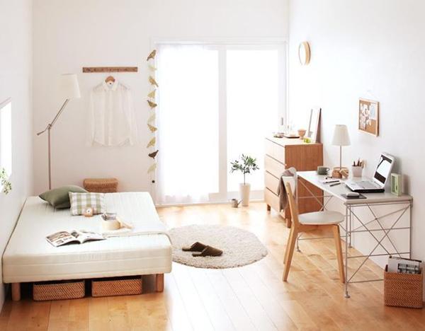 Kiểu dáng nội thất Hàn Quốc đè cao sự nhỏ gọn, đơn giản