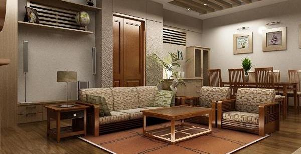Vẻ đẹp trong kiến trúc Hàn Quốc được ứng dụng hiệu quả trong nội thất