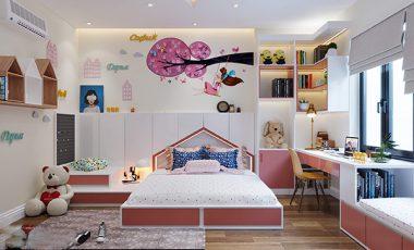 20+ mẫu thiết kế phòng ngủ bé gái đẹp nhất 2021