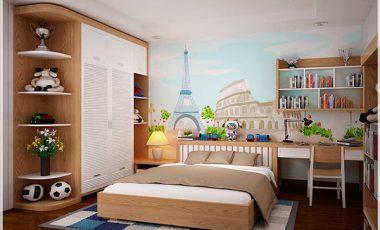 20+ mẫu thiết kế phòng ngủ cho bé trai