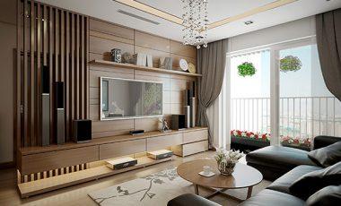 Mê mẩn với cách trang trí phòng khách bằng đồ gỗ