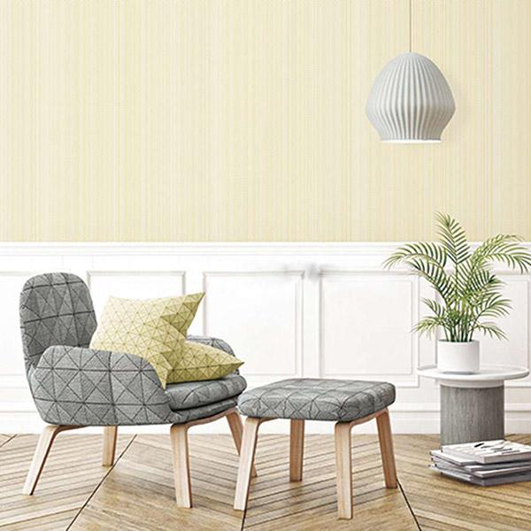 Mẫu giấy dán tường phòng khách đơn giản, lịch sự