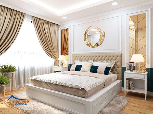 Thiết kế nội thất chung cư 1 phòng ngủ với phòng ngủ ấn tượng, thu hút