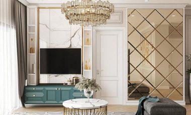 Tổng hợp mẫu thiết kế nội thất chung cư 1 phòng ngủ
