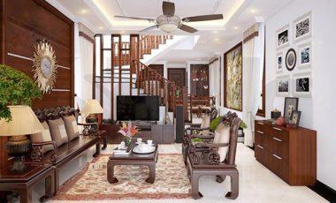 25+ Mẫu thiết kế phòng khách nhà ống đẹp mê mẩn